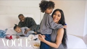 Kim Kardashian & Kanye West Answer 73 Questions For Vogue